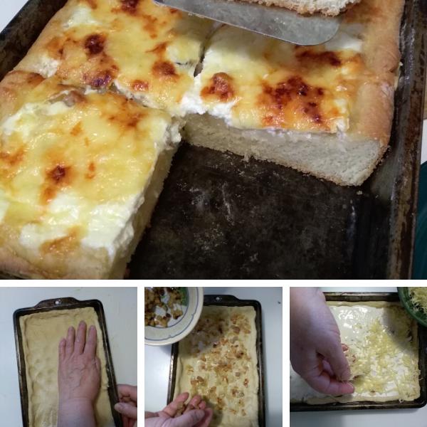 Kenyérlángos GK Food világos kenyér lisztkeverékből