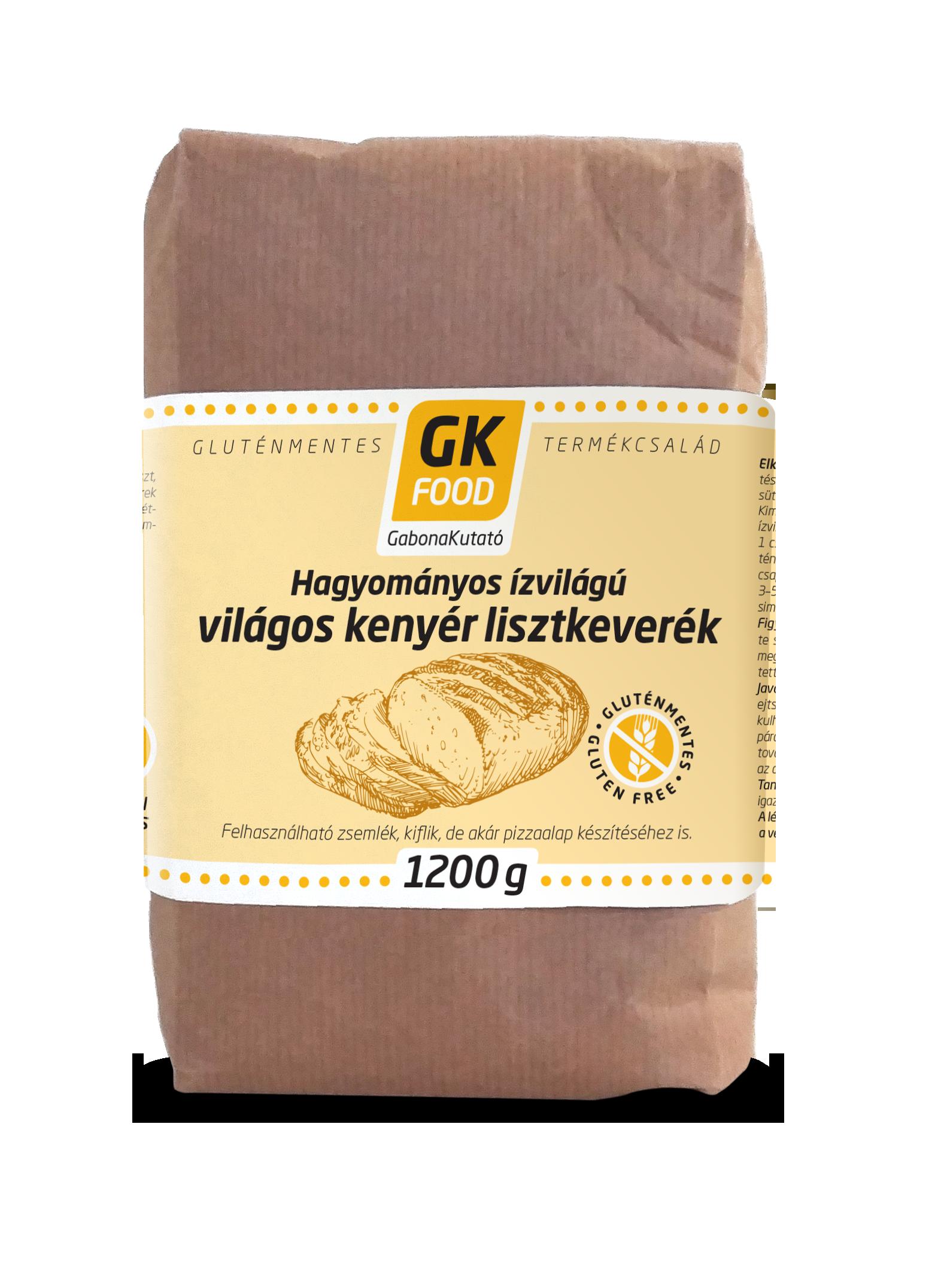 GK Food világos kenyérliszt